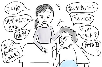 原則、会話における自分のターンは10秒以内に抑えるようにしています