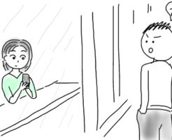 会社の女性をカフェで見かけたので声かけしてみました