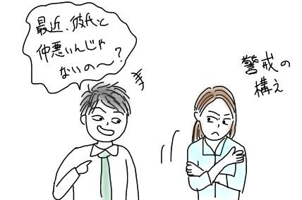 女性がしゃべっているのか、女性をしゃべらせているのかの違いは大きい